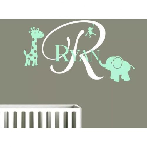 products-Personalised_Name_with_Giraffe_Monkey_and_Elephant_Wall_Decal.jpg